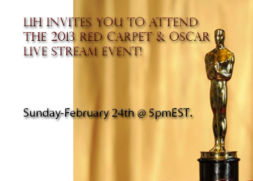Oscar 2013: Live Stream Event